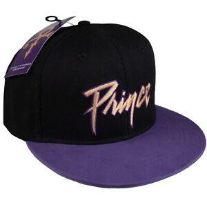 Prince - Embroidered Logo Official Licensed Snapback Baseball Cap