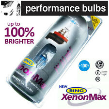 RW1011 Ring H11 XENON MAX +100% Uprated Foglight Bulbs 12v 55W PGJ19-2 (x2)