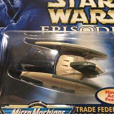 Star Wars Episode 1 Trade Federation Droid Starfighter Die-Cast Metal