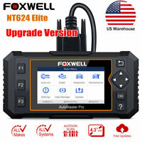 OBD2 Diagnostic Scanner All Systems All Makers ABS SRS Transmission With EPB Oil