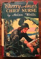 Cherry Ames Chief Nurse by Helen Wells HC Vintage 1944
