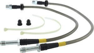 StopTech For Audi / BMW / Volkswagen Brake Hydraulic Hose Front-Rear - 950.33011