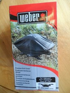 Weber 7118 Premium Grill Cover for 200 / 2000 Series BNIB