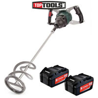 Metabo RW 18 LTX 120 Cordless Stirrer/ Mixer With 2 x 5.2Ah Batteries