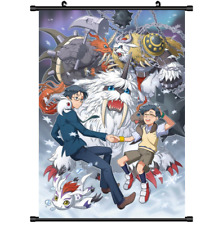 3467 Anime Digimon Adventure Wall Scroll Poster cosplay