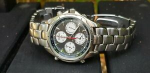 VERY COLLECTABLE SEIKO 7T34 FLIGHTMASTER WATCH