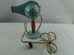 VINTAGE 1950'S HANDY HANNAH ELECTRIC HAIR DRYER LIGHT BLUE #595