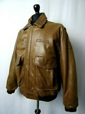 Men's Vintage PALL MALL Leather Pilot Jacket XL 46R