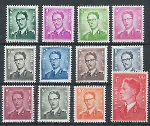 [P315] Belgium 1958 King Baudouin good set very fine MNH stamps val $425
