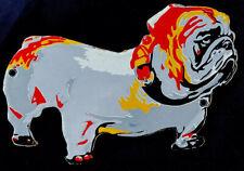VINTAGE MACK BULL DOG PET PORCELAIN SIGN CAR TRUCK ANIMAL OIL GAS GASOLINE