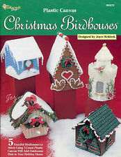 Christmas Birdhouses plastic canvas patterns OOP