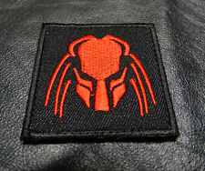 PREDATOR  ALIEN MOVIE ARNOLD ARMY MORALE MILITARY HOOK  PATCH