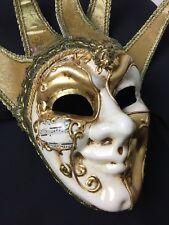 Authentic La Maschera Del Galeone Venetian Hand Painted Mask Venice