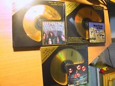 (3) 24K Gold CD's Deep Purple Machine Head In Rock Who Do We Think We Are Sealed