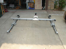 Plasma XYZ 5'x5'motion assy w/rails step motors X 2Y's Hpattern,and Z for torch