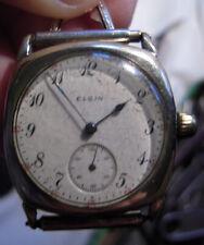 Vintage Elgin USA wrist watch 17 Jewels Adjusted