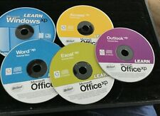 5 Microsoft Office Xp Tutorials CDs - Outlook; Access; Excel; Word