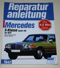 Reparaturanleitung Mercedes W116 S-Klasse 280 / 350 / 450 S + SE + SEL, ab 1972