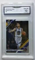 2019-20 Donruss Optic #8 Stephen Curry Base Golden State Warriors NBA GMA 10