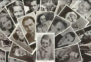 PICTUREGOER FILM STAR POSTCARDS - Card Range 601 to 700 - PICK YOUR OWN (RN01)