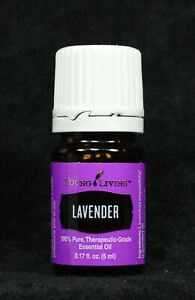 Young Living Essential Oil Lavender 5ml - NEW ** FAST Shipping **