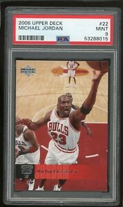 2006-07 Upper Deck Michael Jordan #22 PSA 9 MINT Basketball Card