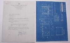 1934 Lamson Goodnow Ferro Enamel Pickling System Blueprint Ohio Ephemera L257H