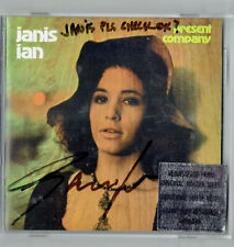Janis Ian: Present Company CD signed by Janis