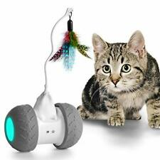 New listing Robotic Cat Toy Interactive Automate Kitten Toy Ball Usb Rechargeable 2000mAh.