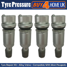 PEUGEOT Tyre Pressure Sensor Valve Repair Kit TPMS 207 307 407 508 607 807 - Ax4