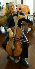 1959 Royal Doulton The Cellist Hn2226 Figure Very Good to Excellent Condition