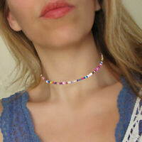 Boho Gift Chain Beads Handmade Jewelry Choker Necklace Fashion Accessories