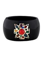 KJL Kenneth Jay Lane Maltese Cross Cuff Bracelet