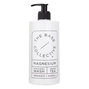 Magnesium + White Tea Hand and Body Wash by The Base Collective