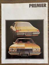 1977/1978 Holden Premier original Australian sales brochure