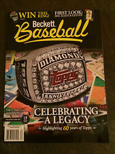 Beckett Baseball Issue #62 May 2011 Celebrating A Legacy 60 Years of Topps