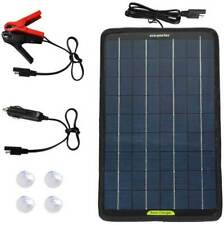 10w Solar Panel 12V Car light weight Camping Caravan Battery Trickle Charger