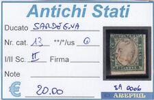 ANTICHI STATI - SARDEGNA - SA0006 - NR. 13 USATO -