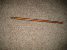 9 inch Bamboo double ended Tunisian Afghan crochet hook end 7.0 mm