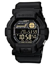 Casio G Shock * GD350-1B Vibration Alert Precision Counter Black COD PayPal