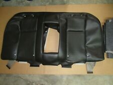 04 Cadillac Cts Upper Rear Seat Cover Black Leather Skin Covering B7 Fits Cts V