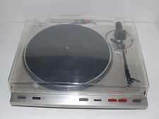 Vintage Luxman P-405 Belt Drive Fully Automatic Turntable w/dust cover WORKING