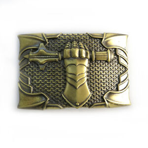 "Belt buckle ""Steel fist""; Military belt buckle; Tank belt buckle; Armored buckle"