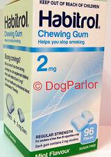 Habitrol Nicotine Gum 2mg MINT 10 Boxes 960 Pieces