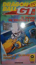 VHS - DE AGOSTINI/ DRAGON BALL GT - VOLUME 11 - EPISODI 2