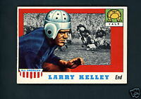 1955 Topps All American # 26 Rookie Larry Kelley EX/MT+ cond Single Print Yale