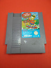 Jeu Nintendo NES ►the SIMPSON'S bart vs.the space mutants/ Cartouche seule