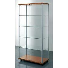 vetrina per arredo negozio vetrinette con ripiani regolabili vetrine cristallo
