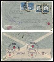 Brazil Wien, Condor Lati Letter, censored 1941