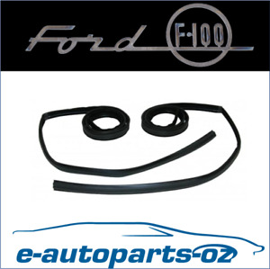 Ford F100 F250 F350 Bronco New Bailey Channel Set (Does Both Doors) 1981-1996